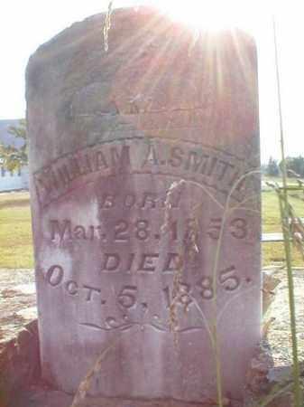 SMITH, WILLIAM A - Logan County, Arkansas   WILLIAM A SMITH - Arkansas Gravestone Photos