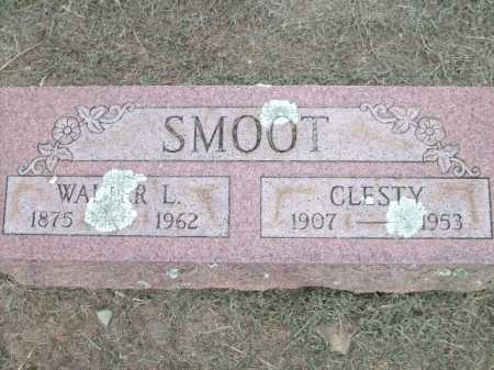 SMOOT, WALTER L. - Logan County, Arkansas | WALTER L. SMOOT - Arkansas Gravestone Photos