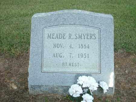 SMYERS, MEADE R. - Logan County, Arkansas | MEADE R. SMYERS - Arkansas Gravestone Photos
