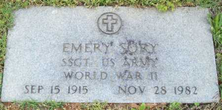 SORY (VETERAN WWII), EMERY - Logan County, Arkansas | EMERY SORY (VETERAN WWII) - Arkansas Gravestone Photos