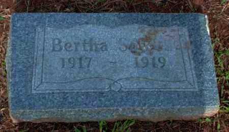 SOWELL, BERTHA - Logan County, Arkansas | BERTHA SOWELL - Arkansas Gravestone Photos