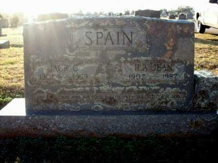 SPAIN, ILA JEAN - Logan County, Arkansas | ILA JEAN SPAIN - Arkansas Gravestone Photos