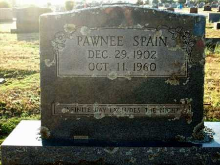 SPAIN, PAWNEE - Logan County, Arkansas | PAWNEE SPAIN - Arkansas Gravestone Photos