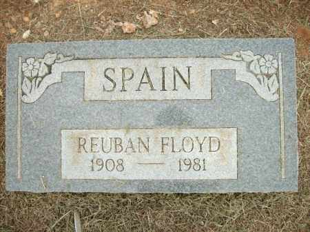 SPAIN, REUBAN FLOYD - Logan County, Arkansas | REUBAN FLOYD SPAIN - Arkansas Gravestone Photos