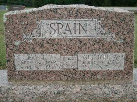 SPAIN, RAY L. - Logan County, Arkansas | RAY L. SPAIN - Arkansas Gravestone Photos