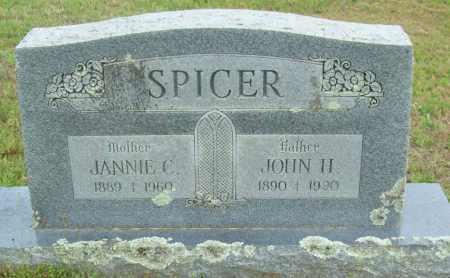 SPICER, JANNIE C. - Logan County, Arkansas | JANNIE C. SPICER - Arkansas Gravestone Photos