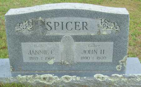 SPICER, JOHN H. - Logan County, Arkansas | JOHN H. SPICER - Arkansas Gravestone Photos