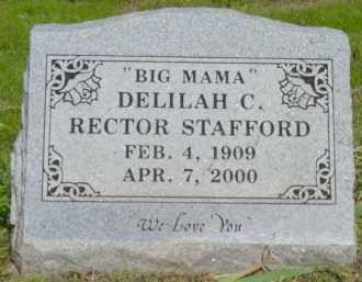 FAULKINBURY STAFFORD, DELILAH CHRISTINE - Logan County, Arkansas | DELILAH CHRISTINE FAULKINBURY STAFFORD - Arkansas Gravestone Photos