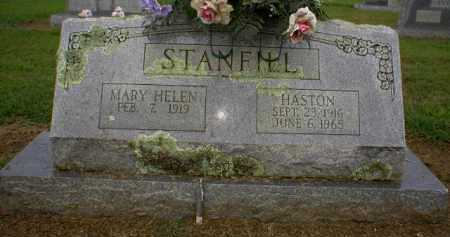 STANFILL (VETERAN WWII), HASTON - Logan County, Arkansas | HASTON STANFILL (VETERAN WWII) - Arkansas Gravestone Photos
