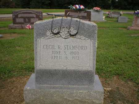 STANFORD, CECIL R. - Logan County, Arkansas | CECIL R. STANFORD - Arkansas Gravestone Photos
