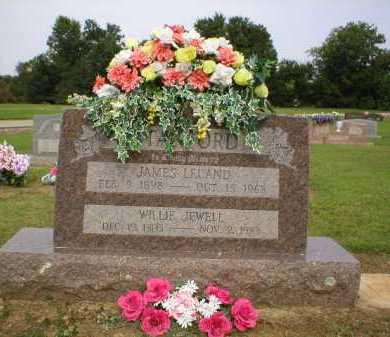 STANFORD, WILLIE JEWELL - Logan County, Arkansas | WILLIE JEWELL STANFORD - Arkansas Gravestone Photos