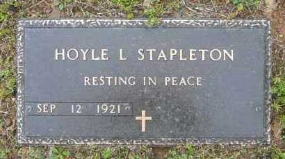 STAPLETON, HOYLE - Logan County, Arkansas | HOYLE STAPLETON - Arkansas Gravestone Photos