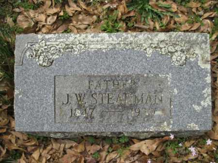 STEADMAN, J W - Logan County, Arkansas | J W STEADMAN - Arkansas Gravestone Photos