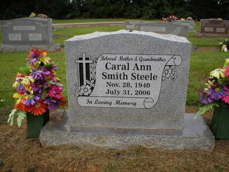 SMITH STEELE, CARAL - Logan County, Arkansas | CARAL SMITH STEELE - Arkansas Gravestone Photos