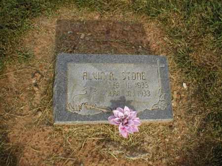 STONE, ALVIN R. - Logan County, Arkansas | ALVIN R. STONE - Arkansas Gravestone Photos