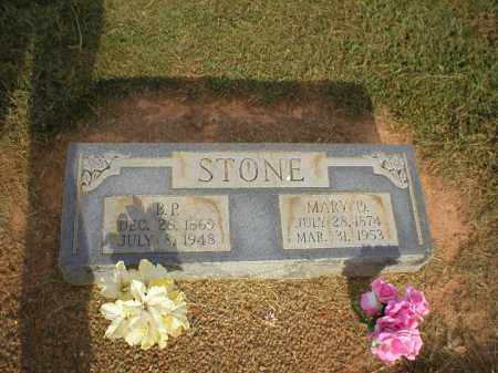 STONE, MARY O. - Logan County, Arkansas | MARY O. STONE - Arkansas Gravestone Photos