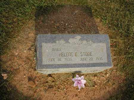 STONE, HELENE E. - Logan County, Arkansas | HELENE E. STONE - Arkansas Gravestone Photos