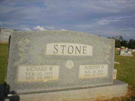 STONE, RICHARD W. - Logan County, Arkansas | RICHARD W. STONE - Arkansas Gravestone Photos