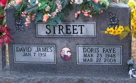 STREET, DORIS FAYE - Logan County, Arkansas | DORIS FAYE STREET - Arkansas Gravestone Photos