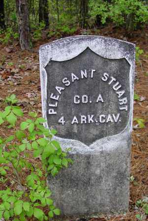 STUART (VETERAN UNION), PLEASANT - Logan County, Arkansas | PLEASANT STUART (VETERAN UNION) - Arkansas Gravestone Photos