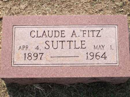 "SUTTLE, CLAUDE A. ""FITZ"" - Logan County, Arkansas 