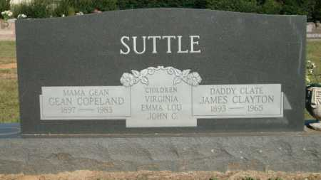 COPELAND SUTTLE, GEAN - Logan County, Arkansas | GEAN COPELAND SUTTLE - Arkansas Gravestone Photos