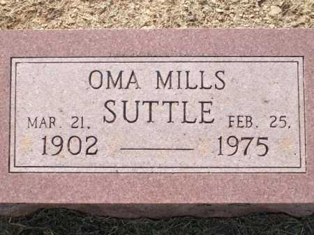 MILLS SUTTLE, OMA - Logan County, Arkansas | OMA MILLS SUTTLE - Arkansas Gravestone Photos