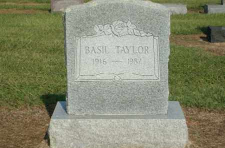 TAYLOR, BASIL - Logan County, Arkansas | BASIL TAYLOR - Arkansas Gravestone Photos