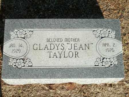 "TAYLOR, GLADYS ""JEAN"" - Logan County, Arkansas | GLADYS ""JEAN"" TAYLOR - Arkansas Gravestone Photos"