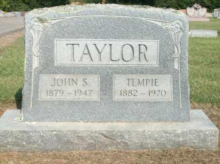 TAYLOR, TEMPIE - Logan County, Arkansas | TEMPIE TAYLOR - Arkansas Gravestone Photos