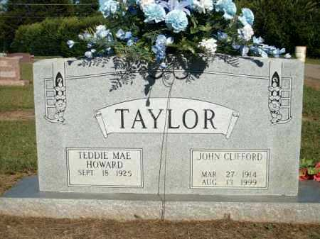 TAYLOR, JOHN CLIFFORD - Logan County, Arkansas | JOHN CLIFFORD TAYLOR - Arkansas Gravestone Photos