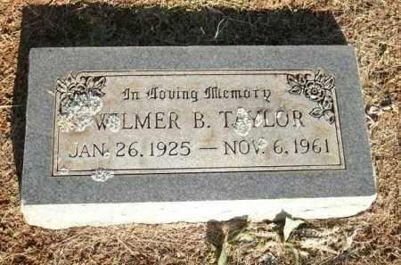 TAYLOR, WILMER B. - Logan County, Arkansas | WILMER B. TAYLOR - Arkansas Gravestone Photos