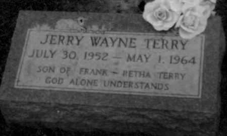 TERRY, JERRY - Logan County, Arkansas | JERRY TERRY - Arkansas Gravestone Photos
