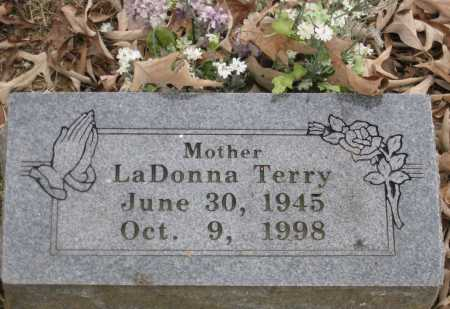 TERRY, LADONNA TERRY - Logan County, Arkansas | LADONNA TERRY TERRY - Arkansas Gravestone Photos