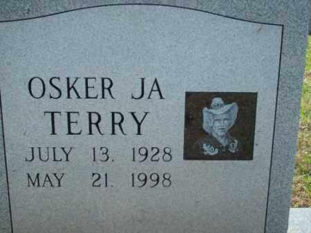 TERRY, OSKER JA - Logan County, Arkansas | OSKER JA TERRY - Arkansas Gravestone Photos