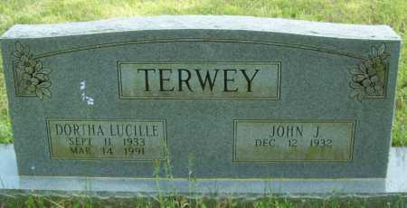 TERWEY, DORTHA LUCILLE - Logan County, Arkansas | DORTHA LUCILLE TERWEY - Arkansas Gravestone Photos