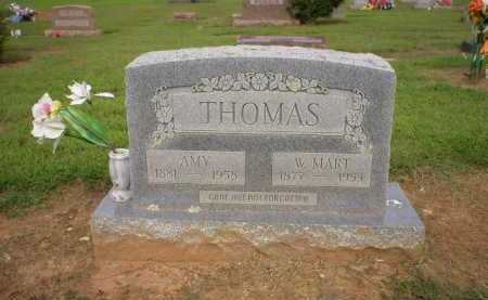 THOMAS, W. MART - Logan County, Arkansas | W. MART THOMAS - Arkansas Gravestone Photos