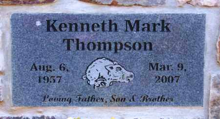 THOMPSON, KENNETH MARK - Logan County, Arkansas | KENNETH MARK THOMPSON - Arkansas Gravestone Photos