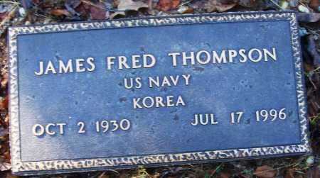 THOMPSON (VETERAN KOR), JAMES FRED - Logan County, Arkansas | JAMES FRED THOMPSON (VETERAN KOR) - Arkansas Gravestone Photos