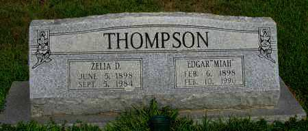 THOMPSON, ZELIA D - Logan County, Arkansas | ZELIA D THOMPSON - Arkansas Gravestone Photos