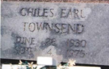 TOWNSEND, CHILES EARL - Logan County, Arkansas | CHILES EARL TOWNSEND - Arkansas Gravestone Photos