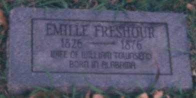 TOWNSEND, EMILLE A - Logan County, Arkansas | EMILLE A TOWNSEND - Arkansas Gravestone Photos