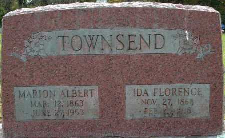 TOWNSEND, IDA - Logan County, Arkansas | IDA TOWNSEND - Arkansas Gravestone Photos