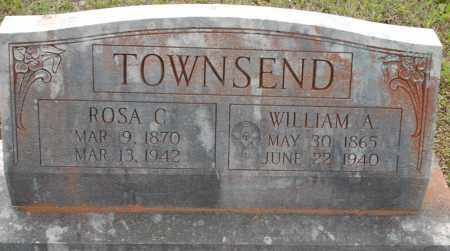 WILKINS TOWNSEND, ROSA - Logan County, Arkansas | ROSA WILKINS TOWNSEND - Arkansas Gravestone Photos