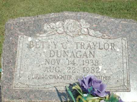DUNAGAN TRAYLOR, BETTY C. - Logan County, Arkansas | BETTY C. DUNAGAN TRAYLOR - Arkansas Gravestone Photos