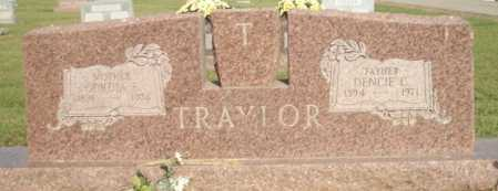 TRAYLOR, DENCIE C. - Logan County, Arkansas | DENCIE C. TRAYLOR - Arkansas Gravestone Photos