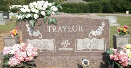 TRAYLOR, EUCAL LEE - Logan County, Arkansas | EUCAL LEE TRAYLOR - Arkansas Gravestone Photos