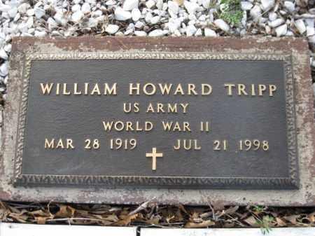 TRIPP (VETERAN WWII), WILLIAM HOWARD - Logan County, Arkansas | WILLIAM HOWARD TRIPP (VETERAN WWII) - Arkansas Gravestone Photos