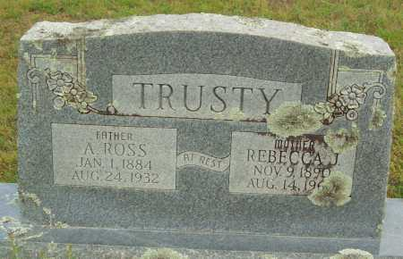 TRUSTY, REBECCA J. - Logan County, Arkansas | REBECCA J. TRUSTY - Arkansas Gravestone Photos