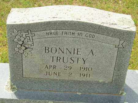 TRUSTY, BONNIE A. - Logan County, Arkansas | BONNIE A. TRUSTY - Arkansas Gravestone Photos